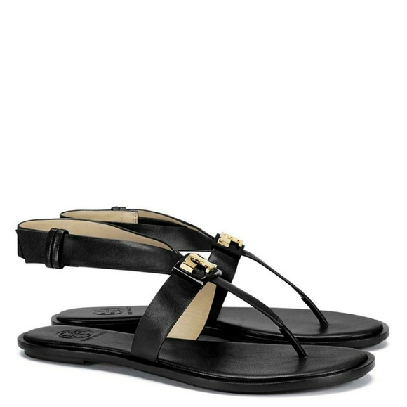 c7bda1ae3df773 🎉SALE🎉NWOT Tory Burch Gigi Flat Sandals in black